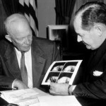 Eisenhower signs The National Aeronautics and Space Act