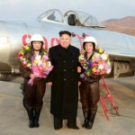 Kim-Jong-Un-meets-female-fighter-pilots
