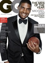 Michael Sam GQ cover image
