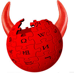 Wikipedia-devil-logo