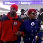 airport Brown parents