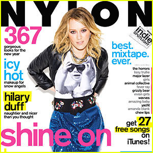 hilary-duff-nylon-cover