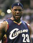 James addresses injuries to Cavaliers for NBA Finals.