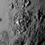 Ice Mountains of Pluto