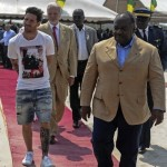 Messi Gabon zoo attire