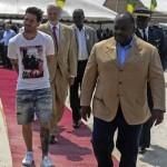 Messi Gabon zoo attire