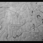 Frozen Plains in the Heart of Pluto's 'Heart' (annotated)