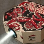 Pizza Hut movie projector image