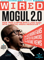 Wired cover Troy Carter