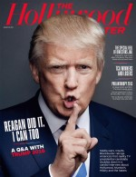 Donald Trump Hollywood Reporter cover