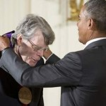 Stephen King arts medal Obama