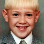 Conor McGregor childhood pic