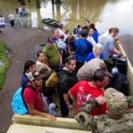 Local, state and national agencies have been working together to rescue residents