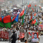 Balochistan protest march